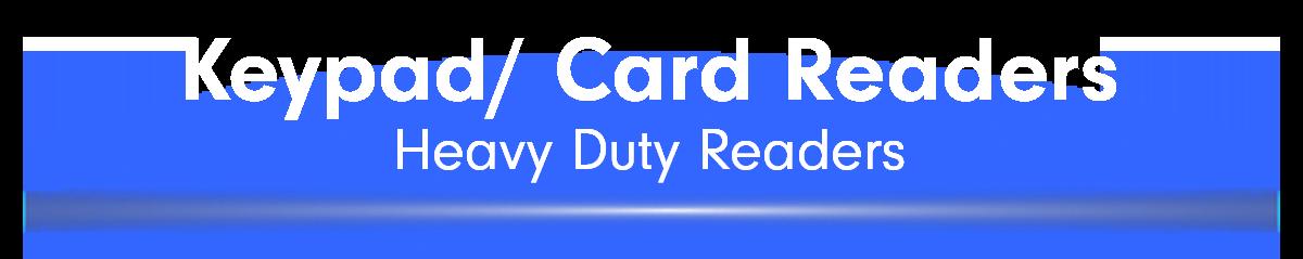 Keypad/ Card Readers